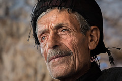 SURVIVOR (Axel Halbgebauer) Tags: iran people portrait face eyes oldman sony sonyalpha sonya7r2 gmaster middle east middleeast war iraq kurdish kurdistan documentary