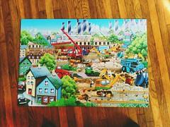 Jigsaw Puzzle (Thad Zajdowicz) Tags: jigsaw puzzle colorful play floor wood zajdowicz losangeles california 366 365 cellphone motorola droid turbo aviary indoor inside availablelight