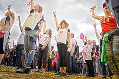 #Manifiesta (Salim Hellalet) (solidair(e)_org) Tags: sfeer ambiance onebillionrising manifiesta2016 bredene