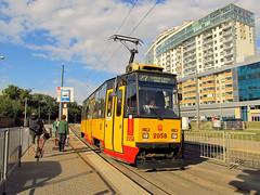 Konstal 105N2k, #2058, Tramwaje Warszawskie (transport131) Tags: tram tramwaj tw ztm warszawa warsaw konstal 105n 105n2k