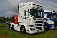 Scania R490 'Ace Movements Ltd' reg EU16 GOK (erfmike51) Tags: scaniar490 euro6 artic truck v8 lorry acemovementsltd swedefest2016