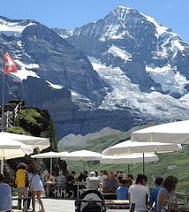 DSCN1841-1 (K.-H. Aberle) Tags: gletscher eiger schweiz switzerland gaststtte restaurant kleinescheidegg