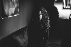 (taysajorge) Tags: people blackwithe girl portrait selfportrait