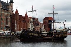 Rainy day in Gdansk (evisdotter) Tags: rainyday gdansk ship oldtown sooc polen poland galleonlew