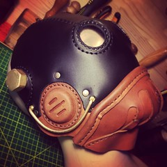 Another custom order. #Cyberpunk #CyberGoth #postapocalyptic #postapocalypse #steampunk #steampunkmask #leathermask #handmade #LARP #dieselpunk #leather #Darkart #costume #larping (tovlade) Tags: face mask cyberpunk cyber goth make up goggles girl punk postapocalyptic postapocalypse black steampunk leather hand made larp cybergoth dieselpunk plague doctor