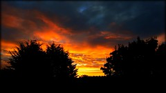 Lovely start to the day (will668) Tags: sunrise dawn earlymorning clouds skieswithcolour firesky sky