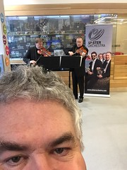 Selfie with Members of Ulster Orchestra at Visit Belfast #ulsterorchestra50 (John D McDonald) Tags: selfie self visitbelfast belfastwelcomecentre violin viola stringduo belfast northernireland ni ulster geotagged ulsterorchestra uo ulsterorchestra50 musicians music professionalmusicians iphone iphone6
