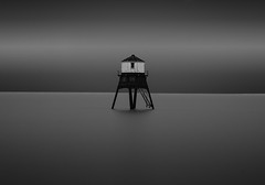 Isolation (TS446Photo) Tags: nikon df 70200mm lighthouse sea seascape sky clouds longexposure le nikkor beach essex england uk british moody contrast dovercourt landscape london fineart photography dslr smooth camera club minimal