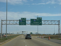 I-10 at MS 67 (US 71) Tags: mississippi highways roadsigns i10 highwaysigns interstate10 i110 interstate110