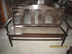 Three-Seater Settee (Leo Cloma) Tags: three furniture antique philippines antiques settee seater cloma