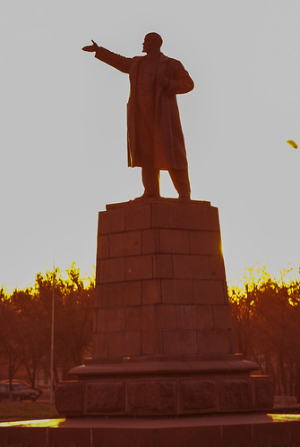Lenin in Red