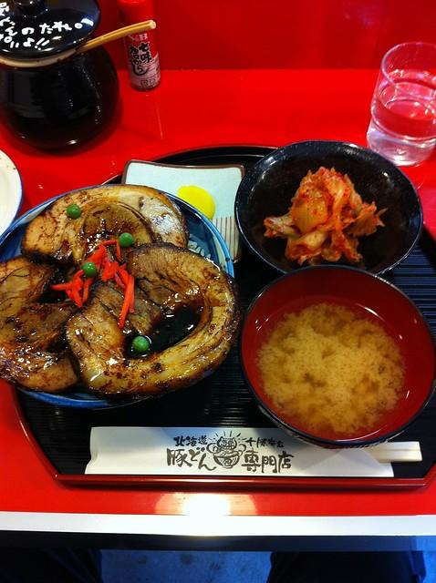 豚丼番長 銀/豚丼・キムチ