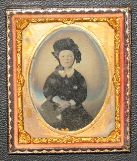 Little Girl - 1/9th Plate Ambrotype