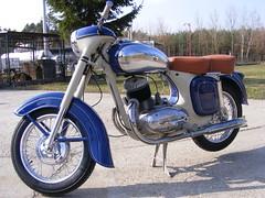 Jawa 250 1956 (lonkvir) Tags: moto jawa