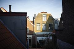 Spring (Arc-HE) Tags: sunset urban brick sunshine spring nikon delft neighborhood nikkor d90 18105vr