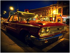 galaxie 500 fire department car (BalineseCat) Tags: red chicago car fire vehicle 500 department galaxie wrigleyville