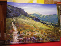 Mt Hay (Grant Eyre) Tags: art acrylic bluemountains