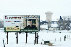 Homes For Heroes' (yakkhapadma) Tags: snow spring photos pics billboards usaf outdooradvertising rapidcitysouthdakota 2013 boxeldersd ellsworthafbsd winterstormwalda