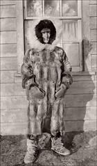 Nun in Furs (ookami_dou) Tags: vintage fur squirrel labrador furcoat nun moravianchurch herrnhuter