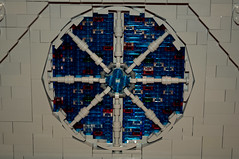 West Rose Window (stevesheriw) Tags: lego notredame cathedral westrosewindow stainedglass