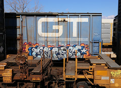 Combos (carnagenyc) Tags: train graffiti freight combos hindue