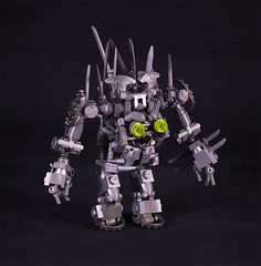 Iron Golem (captainsmog) Tags: monster iron lego evil medieval fantasy minifig chem golem weapons heroic adventurer moc