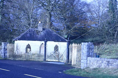 Gate Lodge in Ruins (rosewoodoil) Tags: blue ruins ruin drivebyshooting gatelodge photographedublin somethingblueinmylife