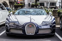 Bugatti Veyron L'Or Blanc (TS Multimedia) Tags: auto london car bug one engine super beast lor bugatti blanc rare supercar veyron v12 autophotography lorblanc