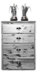 Drawers and Docs. (CWhatPhotos) Tags: pictures old original england blackandwhite brown macro love feet me monochrome up yellow canon vintage dark that rouge boot foot eos photo blackwhite mine foto close with hole boots photos 10 lace dr air year over picture wear have doctor adobe footwear fotos 7d stitching years z comfort sole doc cushion marten which soles dm exposed docs laces contain drmartens bouncing airwair lightroom docmartens welt martens dms laced drmarten 1490s 1490 cushioned wair yellowstitching cwhatphotos