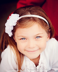 Angel Eyes (Images by April) Tags: girl canon pretty child blueeyes 5d freckles redhair markii