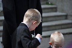 Page Boys (bryanpage) Tags: ashtonmemorial children harrison harrisonhendrixpage harrisonpage pageboy steps suit wedding williamsonpark zachary zacharypage zacharyzebastianpage
