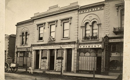 Theatre Royal, Hindley Street, Adelaide, 1874