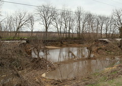Washout! (JayLev) Tags: railroad water flood henry washout peoria flashflood sparland iais iowainterstate