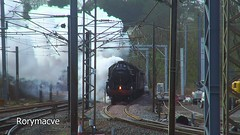 Smokescreen (Rorymacve Part II) Tags: black london spectacular edinburgh day tour britain 5 south 4 great scottish railway running lancashire numbers lancaster preston approach fusilier midland the powering 45407 44871