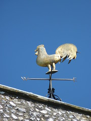 P1150199 (Corambis) Tags: uk england sun church kent weathervane cockerel trottiscliffe
