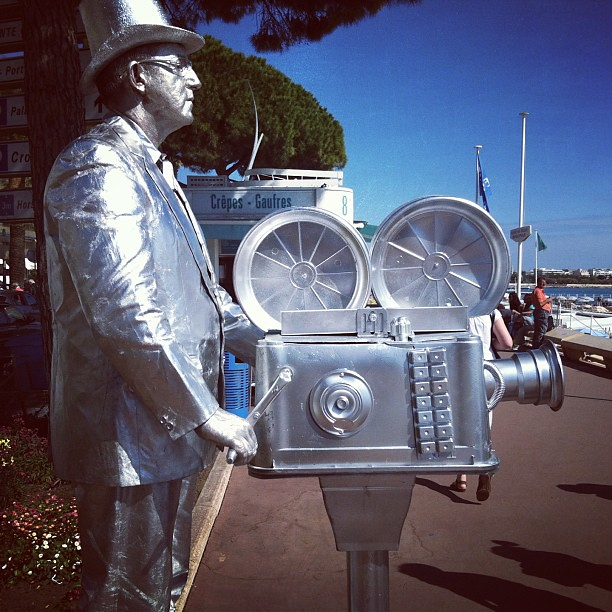 Silver Cannes Man