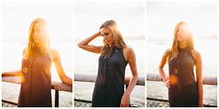 Brittany (Mike Cassara) Tags: new nyc newyorkcity sun newyork fashion 35mm canon triptych longisland flare