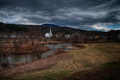 Stowe01_HDR (behemothmedia) Tags: scenery vermont paysage hdr