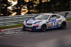 Hyundai Genesis Coupe (Ekmbach) Tags: sunset racing eifel total genesis hyundai coupe vln motorsport 76 dunlop schumann nordschleife nrburgring greenhell grnehlle brnnchen duffner langstrecke kppen