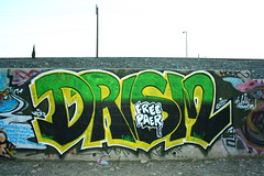 Drism (MR. NIC GUY ^.^) Tags: california urban streetart art landscape graffiti losangeles graffitiart fre paer
