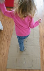 hopscotch 04 (momfetti) Tags: toddler cardboard hopscotch crayon
