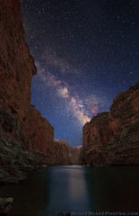 "Milky Way from the bottom of the Grand Canyon (IronRodArt - Royce Bair (""Star Shooter"")) Tags: nightphotography night stars sandstone heaven nightscape grandcanyon canyon coloradoriver geology wilderness universe milkyway grandcanyonnationalpark"