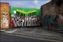 Vik / Mother (Alex Ellison) Tags: urban streetart viktor giant graffiti tag obey andre vik chrome ludo eastlondon wtm rusht wordtomother sheapdfairey