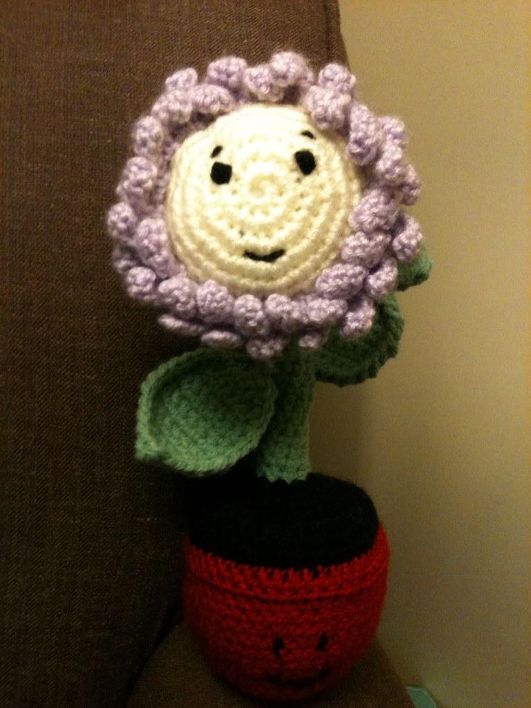 Amigurumi Flower Pot : The Worlds Best Photos of amigurumi and pot - Flickr Hive ...