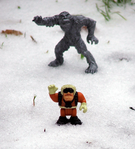 """Photobominable: Yeti Photobomb"""