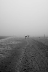 Foggy Day (pain2394) Tags: beach fog riccione