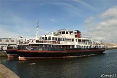 Royal Iris (kev thomas21) Tags: england water ferry liverpool waves waterfront birkenhead mersey merseyside royaliris