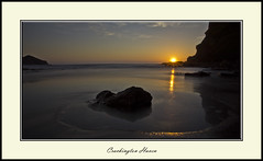 Cornish Haven (Nickerzzzzz :)) Tags: sunset sea beach silhouette crackingtonhaven canon60d 1585isusm nickerzzzzz nickudy