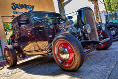 Uptown Whittier 2013 (dmentd) Tags: ford 1932 hotrod coupe hdr streetrod topaz adjust simplify carart sliderssunday