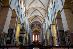 Mainz cathedral interior
